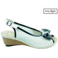 Sandały RIEKER 66186-80 WHITE 8017797