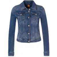 BOSS Orange LYNNA Kurtka jeansowa niebieski BO121G01T-K11
