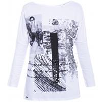 Monnari T-shirt oversize z nadrukiem TSH2700