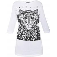 Monnari T-shirt z tygrysem TSH4080