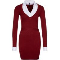 Pepe Jeans RUTH Sukienka dzianinowa czerwony PE121C020-G00