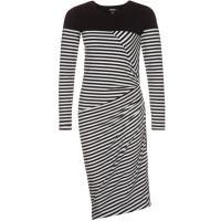 DKNY Sukienka z dżerseju czarny DK121C02I-Q11