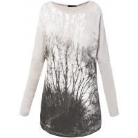 Monnari T-shirt z leśnym motywem TSH2550