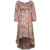 Cream PALYN Sukienka letnia czerwony CR221C04F-G11