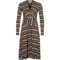 MICHAEL Michael Kors Sukienka letnia żółty MK121C02R-E11
