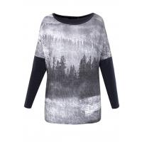 Monnari T-shirt z monochromatycznym drukiem TSH3460