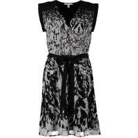 Esprit FEATHER ON CHIF Sukienka letnia czarny ES121C03Q-Q11