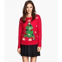 H&M Świąteczny sweter 60455-B