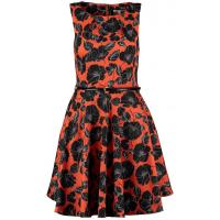 mint&berry Sukienka letnia pumpkin red M3221C0IN-G11