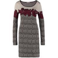 Anna Field Sukienka dzianinowa beżowy AN621C0LQ-B11