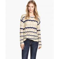 H&M Sweter o wzorzystym splocie 42191-A