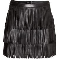 H&M Spódnica z frędzlami 86803-A