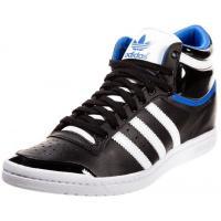 adidas Originals TOP TEN Botki na koturnie black AD111S02A-Q11
