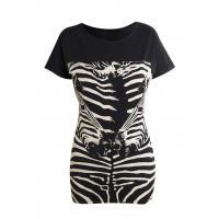 Monnari T-shirt z zebrą TSH2590