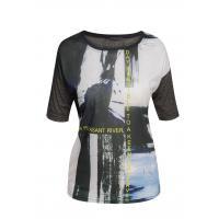 Monnari T-shirt z futurystycznym nadrukiem TSH0880
