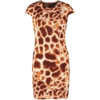 Just Cavalli Sukienka letnia white/brown JU621C040-A11