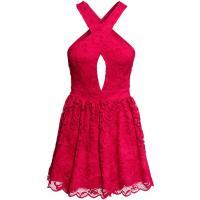 H&M Koronkowa sukienka 0282330003 Czerwony