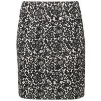 Anna Field Spódnica ołówkowa black/white AN621B020-Q11