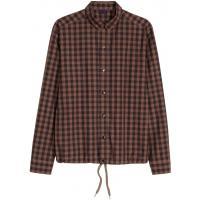 H&M Kurtka koszulowa 0363611001 Brązowy/Krata