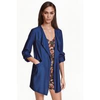 H&M Jacket in a lyocell blend 0368152007 Dark blue