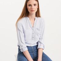 Reserved Koszula z kieszeniami PQ049-05X