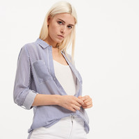 Reserved Koszula w paski PQ043-05X