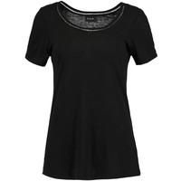 Vila VIVOILA T-shirt z nadrukiem black V1021D0D8-Q11