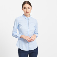 Reserved Koszula z kontrastową lamówką PJ328-05X