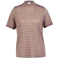 Vila VISTROW T-shirt z nadrukiem roasted pecan V1021D0D2-O11