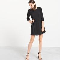 Reserved Czarna sukienka QH512-99X