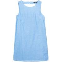 Vila VICOMPLEX Sukienka letnia medium blue denim V1021C0OG-K11