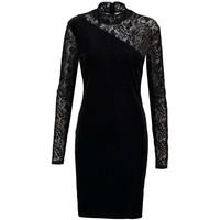 Vila VIPRIMANA Sukienka z dżerseju black V1021C0OW-Q11