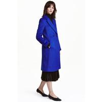 H&M Dwurzędowy płaszcz 0428396002 Chabrowy