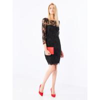 Mohito Koronkowa sukienka z dekoltem na plecach QH936-99X