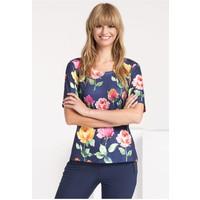 Monnari T-shirt w wielobarwne kwiaty TSHIMP0-16J-TSH4280-KM13D004-R0S