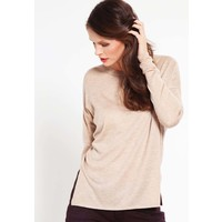 Zalando Essentials Sweter beige melange ZA821IA0S