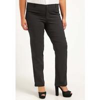 Zizzi Spodnie materiałowe black Z1721A00N