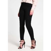 YASLUA Spodnie materiałowe black Y0121A01K