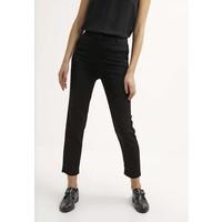 Topshop Spodnie materiałowe black TP721A068
