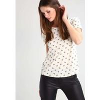 TOM TAILOR DENIM T-shirt z nadrukiem vintage beige TO721D08Q