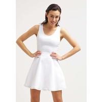 Calvin Klein Jeans Sukienka jeansowa white C1821C00Y
