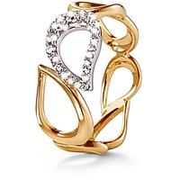 Tchibo Złoty pierścionek z cyrkonią* 400095750