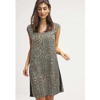 Sisley Sukienka letnia khaki 7SI21C05I