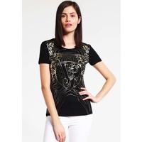 Versace Jeans T-shirt z nadrukiem black 1VJ21D01Q