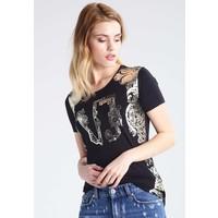 Versace Jeans T-shirt z nadrukiem nero 1VJ21D01T