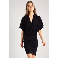 Anna Field Sukienka z dżerseju black AN621CAD6