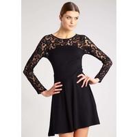 Anna Field Sukienka z dżerseju black AN621CACZ