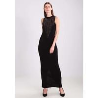 Anna Field Długa sukienka black/rose gold AN621CAAI