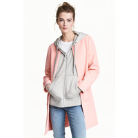 H&M Krótki płaszcz 0434778002 Jasnoróżowy