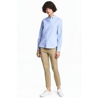 H&M Spodnie chinos Skinny 0466656003 Beżowy khaki